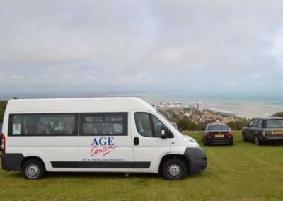 minibus at beachy head 2