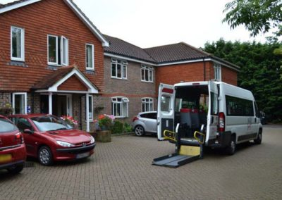 minibus at oaklands 2